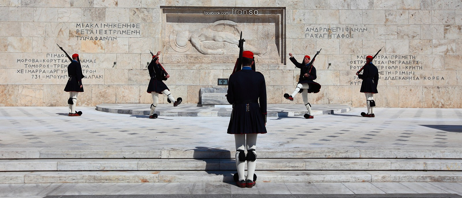 Cityscape | Oversea | Soldiers  | at Athens