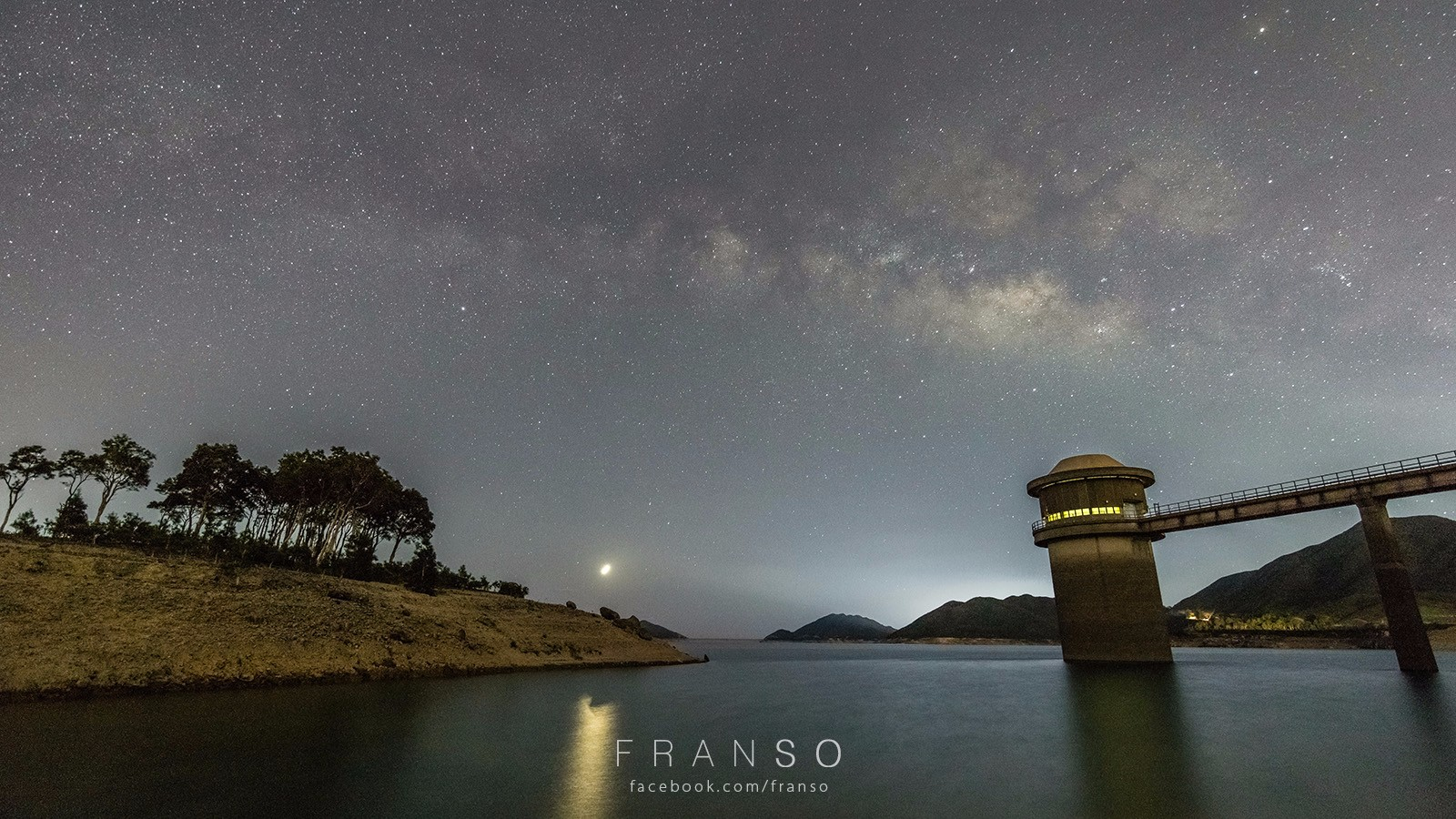 Starscape and Milkyway | Hong Kong | West Dam  | High Island Reservoir, Sai Kung