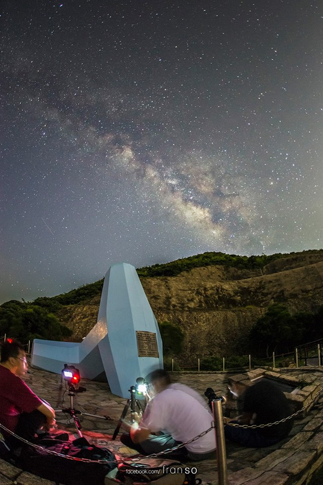 Starscape and Milkyway | Hong Kong | East Dam  | Milkyway