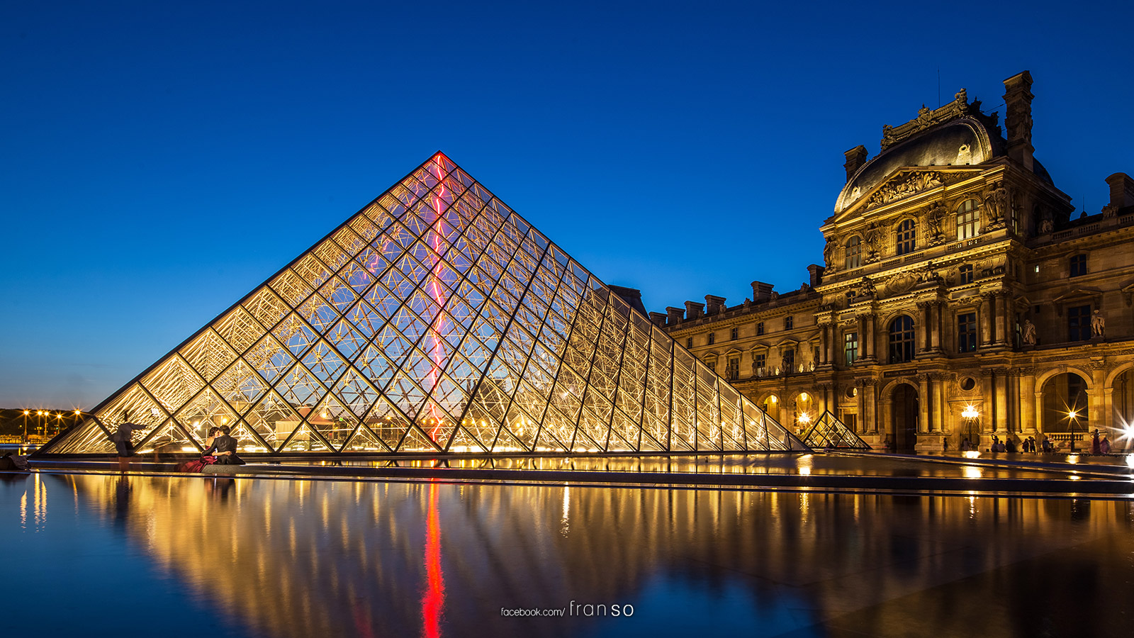 Cityscape | Overseas | Musée du Louvre | After Sunset