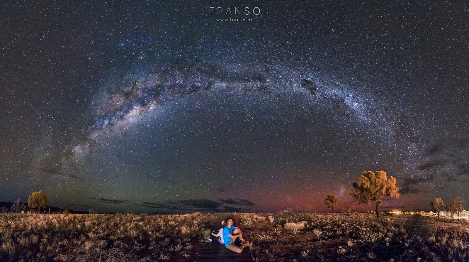 Starscape and Milkyway | Australia | The Arch of the Milkyway  | Kings Canyon, NT, Australia