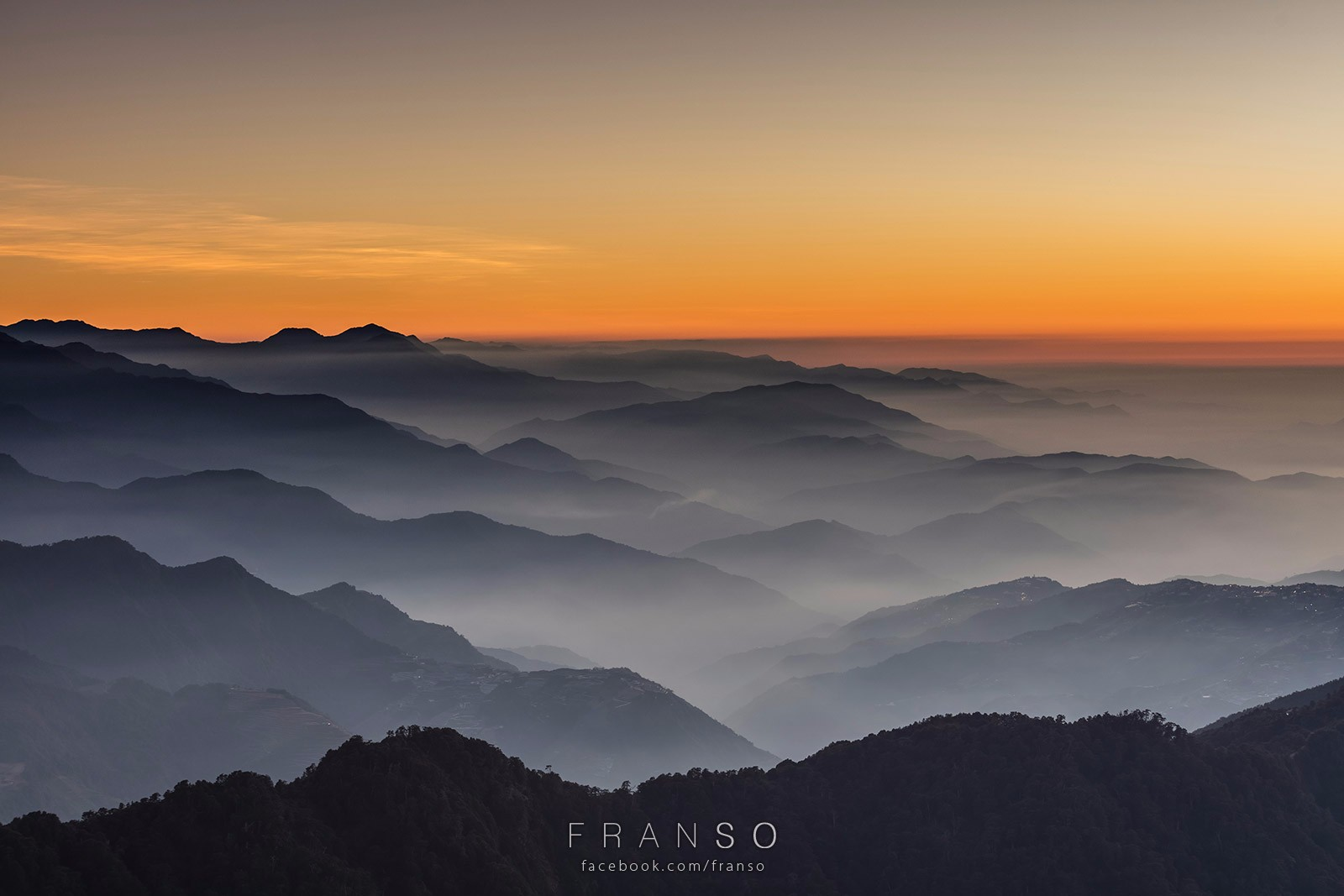 Landscape | Taiwan | After sunset  | Hehuanshan, Taiwan