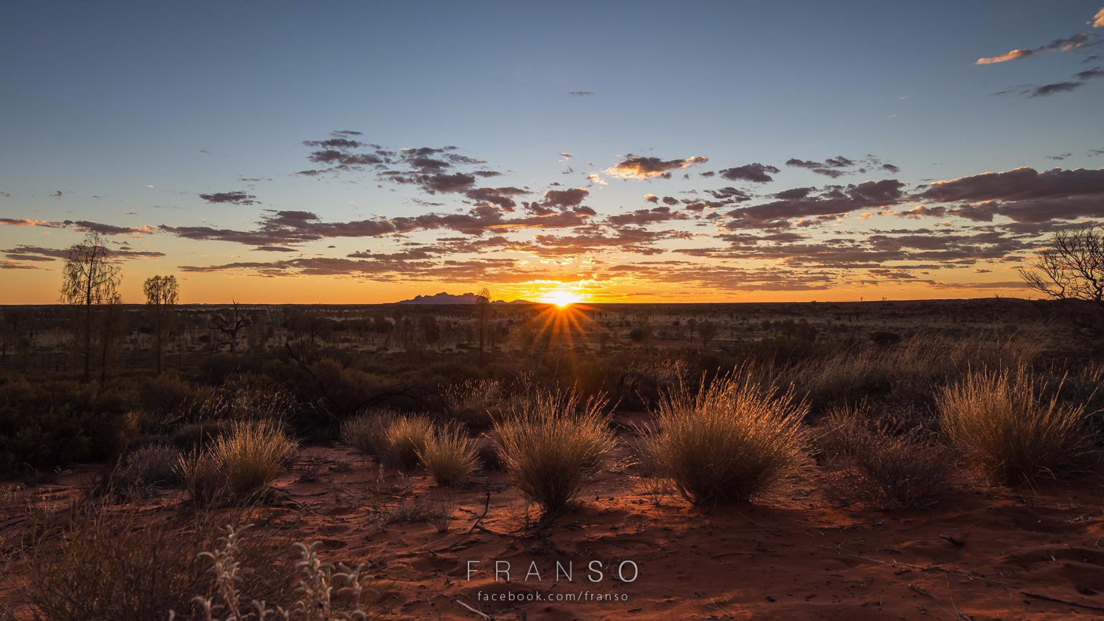 Landscape |  | Sunset at the Desert | Taken at Yulara