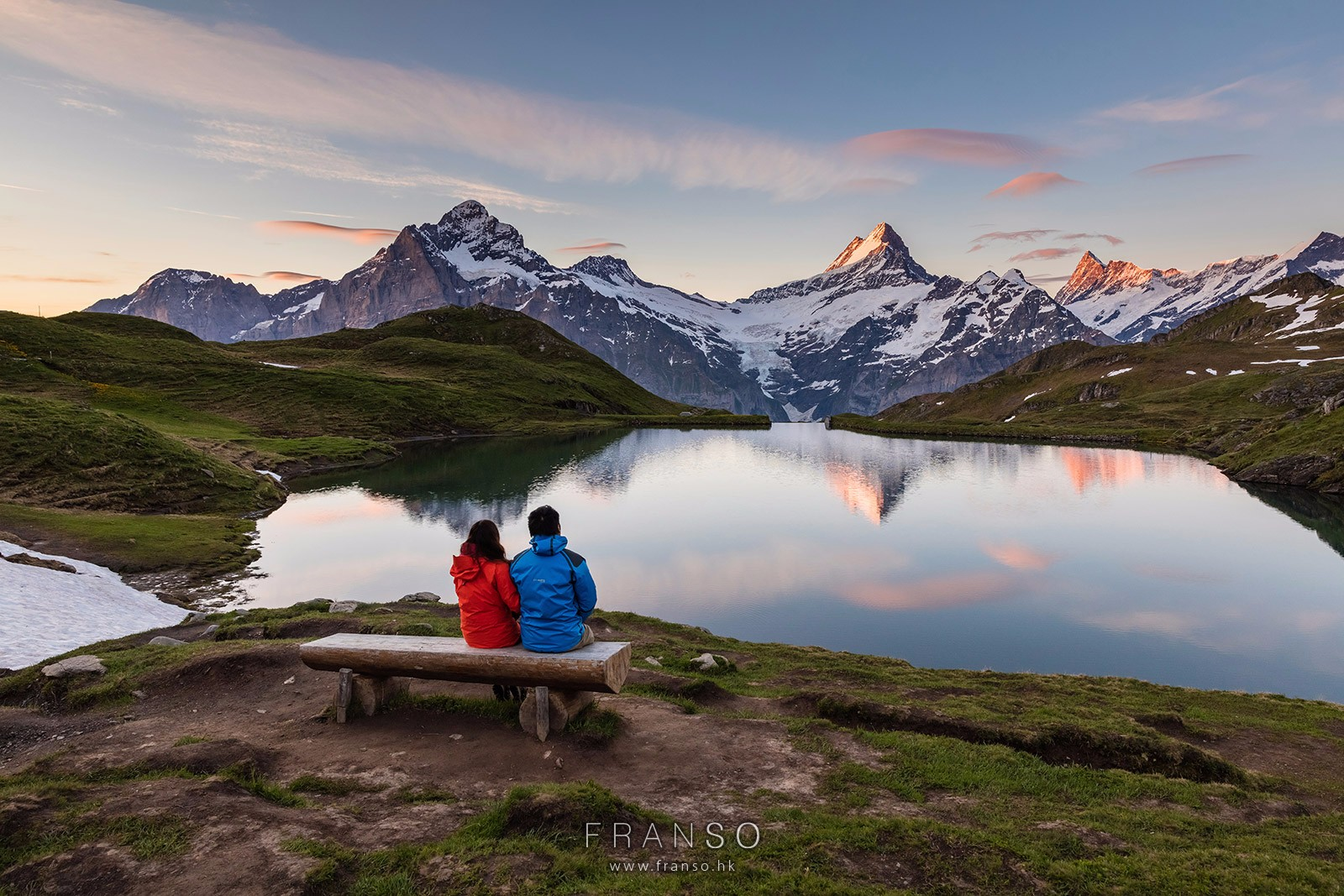 Landscape | Switzerland | Enjoy the Dawn  | Bachalpsee, Berner Oberland, Switzerland