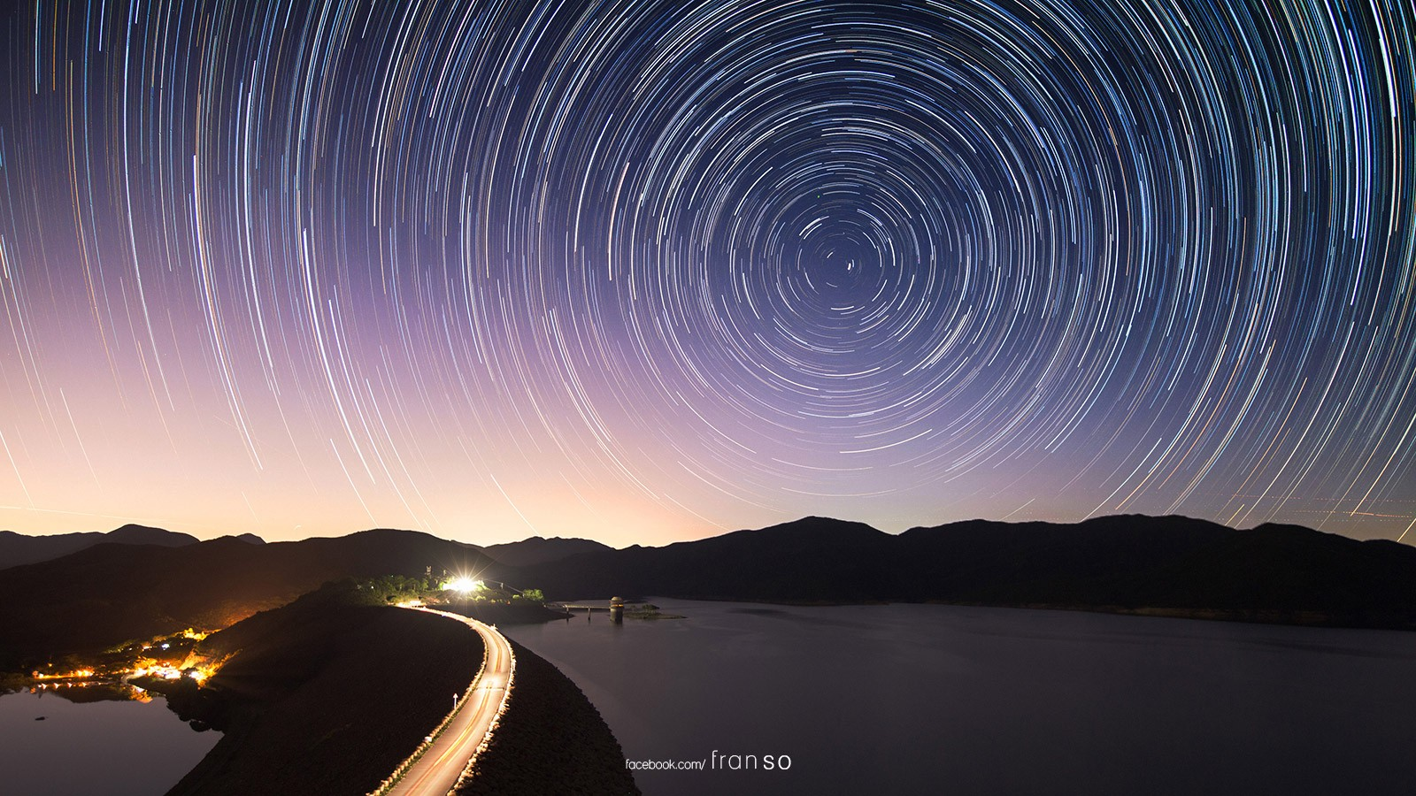 Starscape and Milkyway | Hong Kong | West Dam  | Startrails