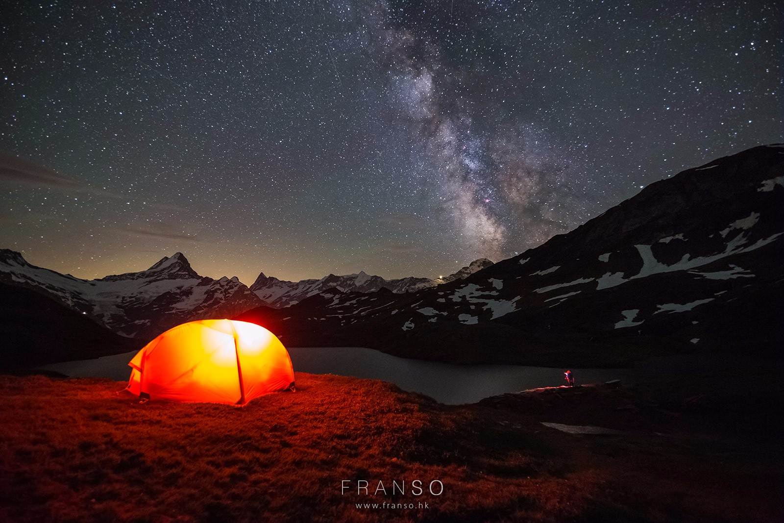 Starscape and Milkyway | Switzerland | Bachalpsee  | Berner Oberland, Switzerland