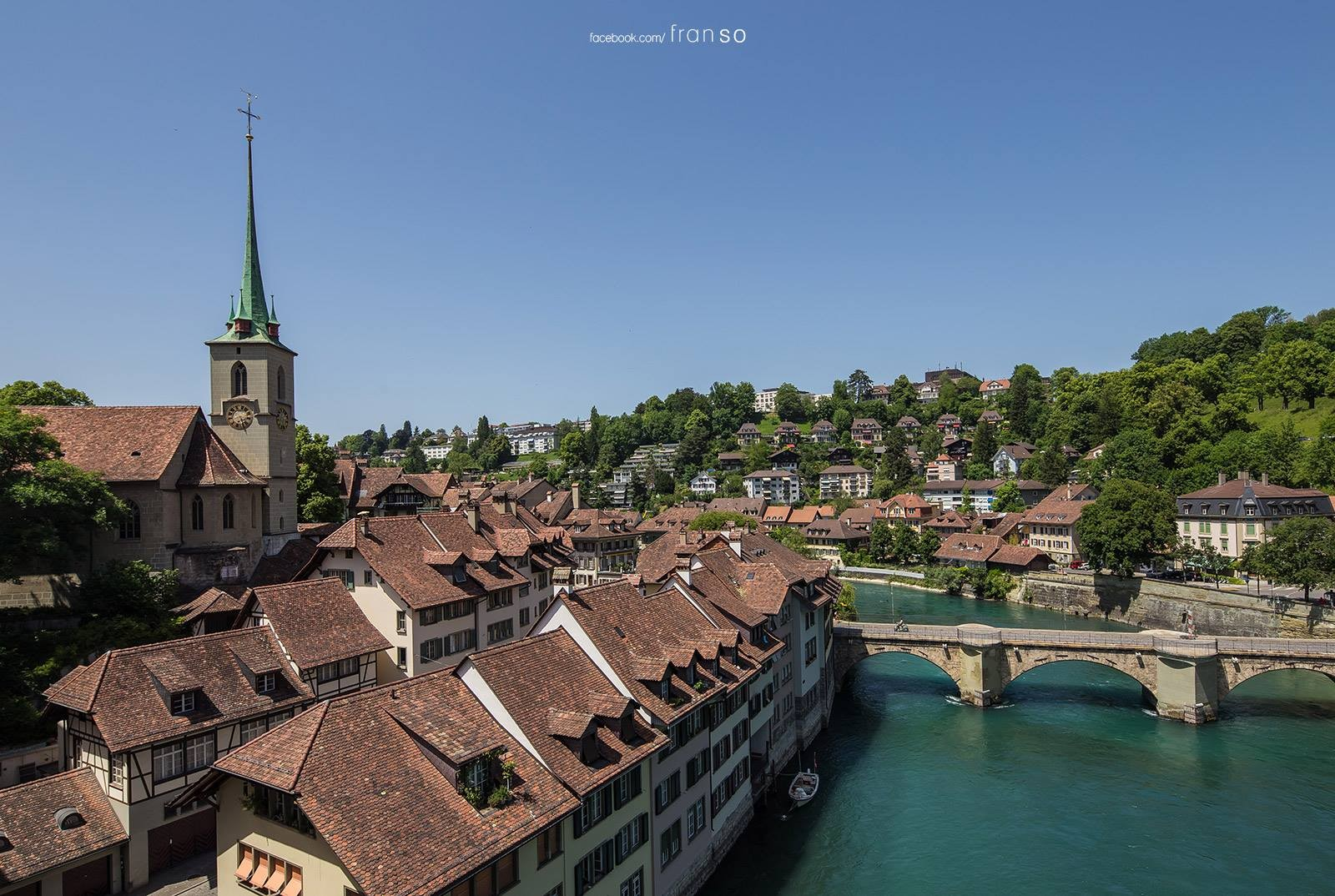 Cityscape | Switzerland | Bern  | Capital of Swiss