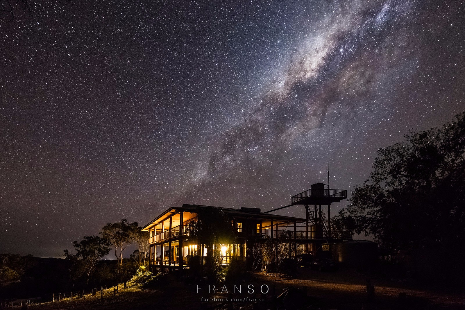 Starscape and Milkyway |  | Sinking Milkyway | Wooden House