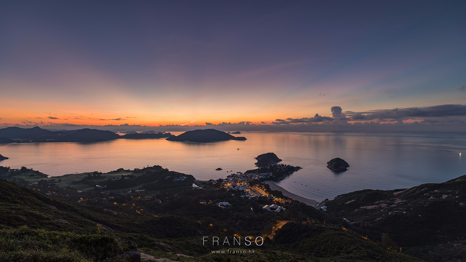 Landscape | Hong Kong | Before sunrise  |