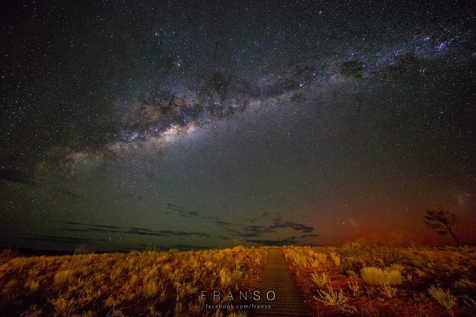 Starscape and Milkyway | Australia | Southern Star  | Captured at Kings Canyon Resort, NT, Australia