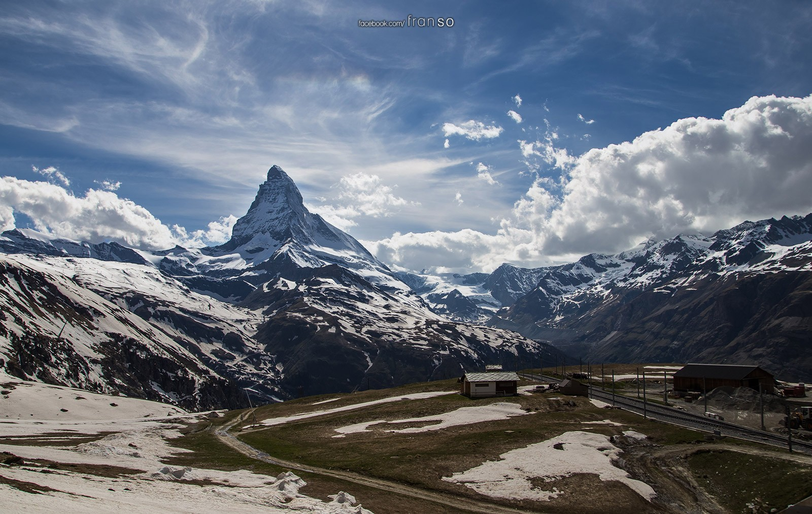 Landscape | Switzerland | Matterhorn  | Taken on the train