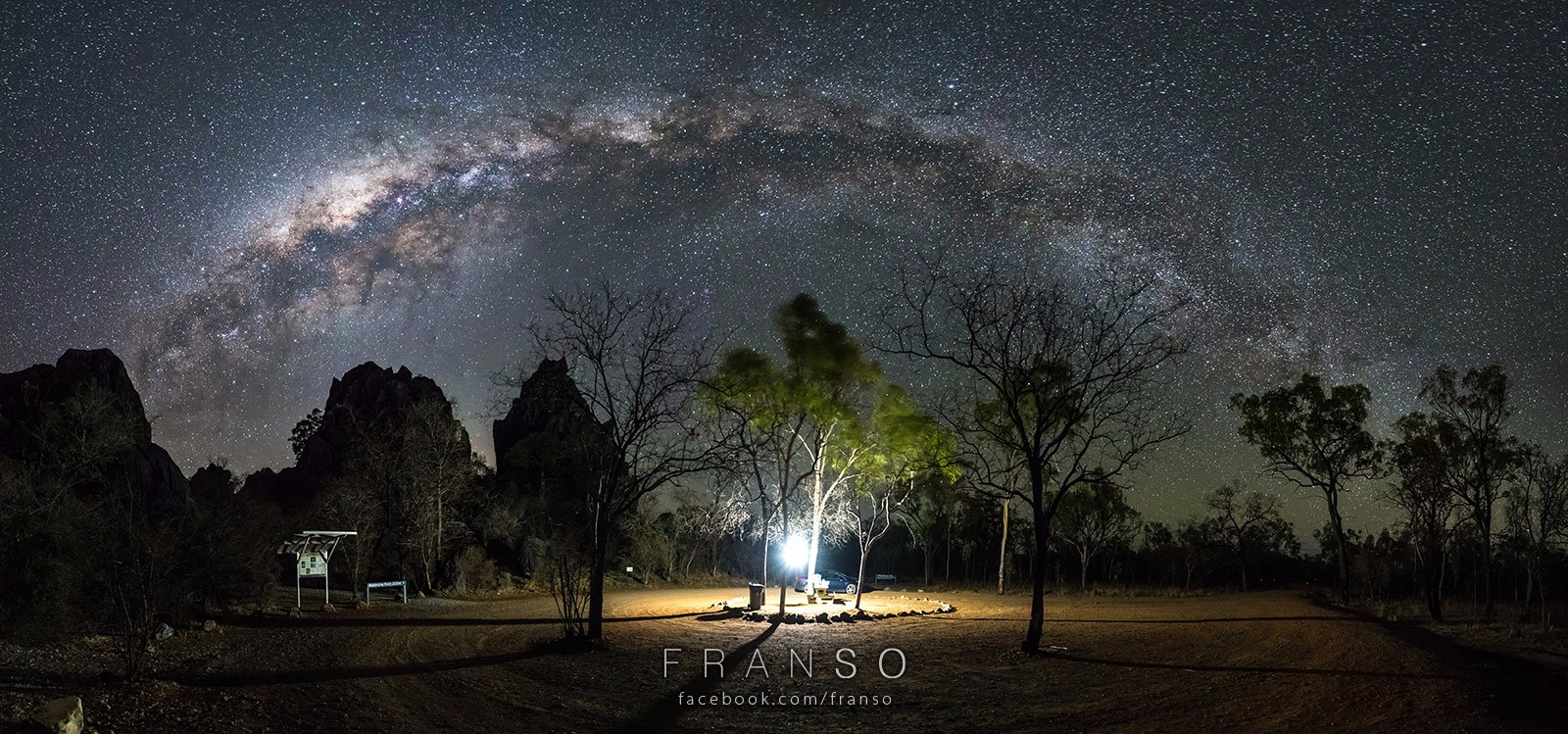 Starscape and Milkyway |  | Milkyway | Chillagoe National Park, QLD, Australia
