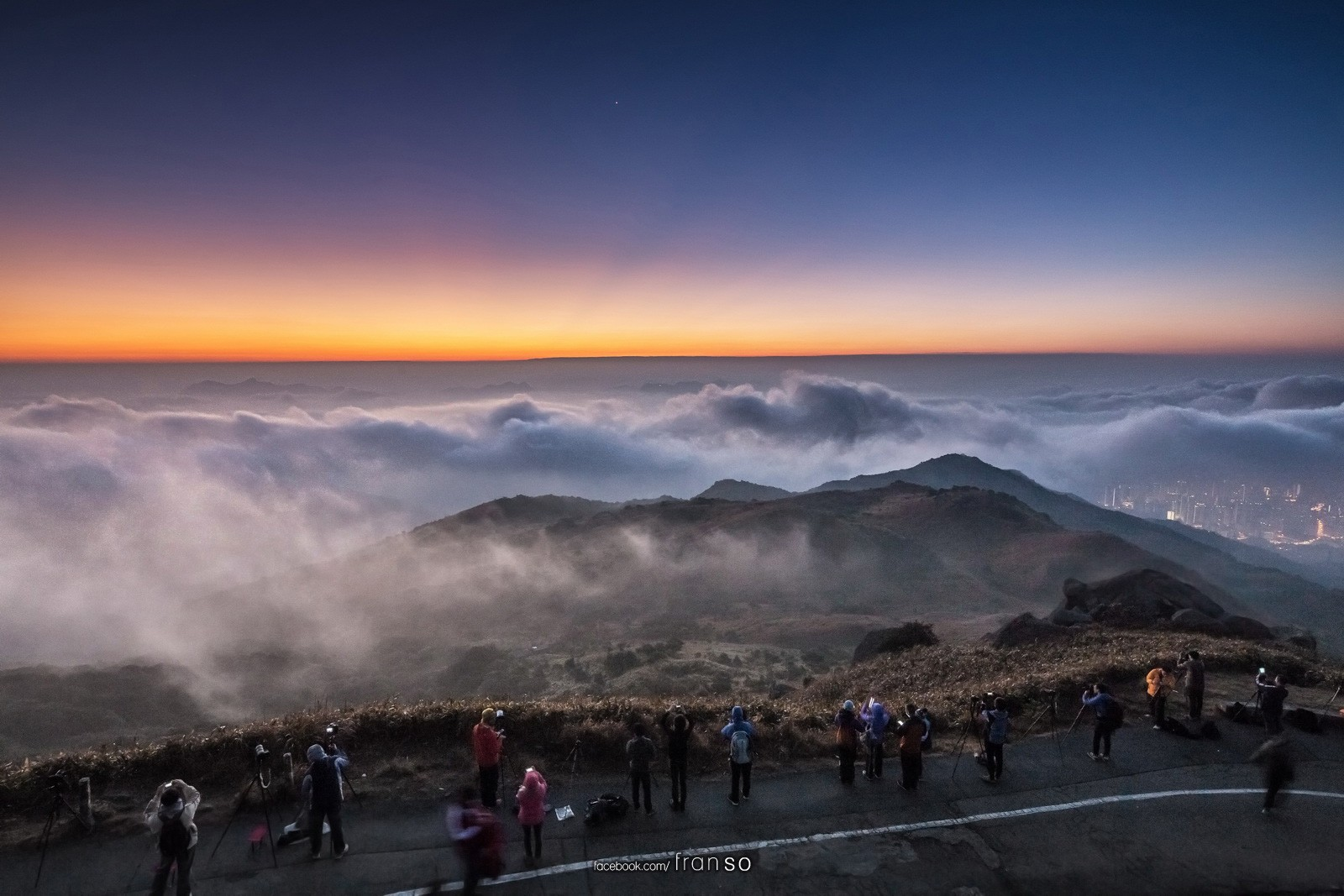 Landscape | Hong Kong | Tai Mo Shan  | Before sunrise
