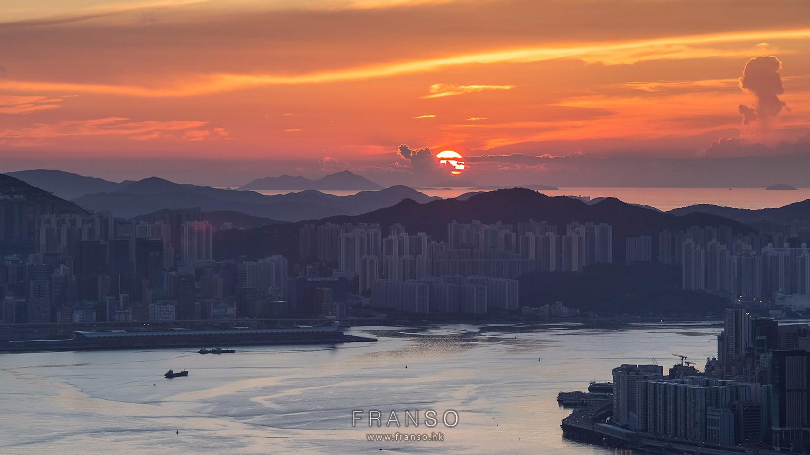 Cityscape | Hong Kong | Sunrise  | Lugard Road, The Peak