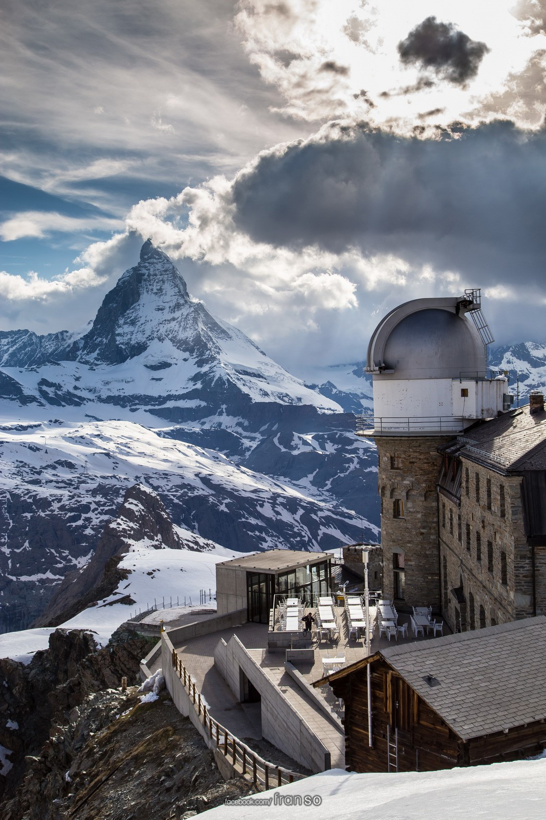 Landscape | Switzerland | Matterhorn and Gornergrat  | 3100 Kulmhotel and the Observatory