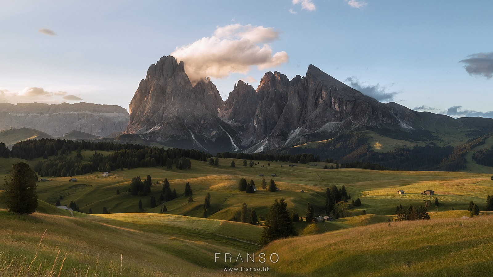 Landscape | Overseas | Sunrise at Alpe di Siusi |