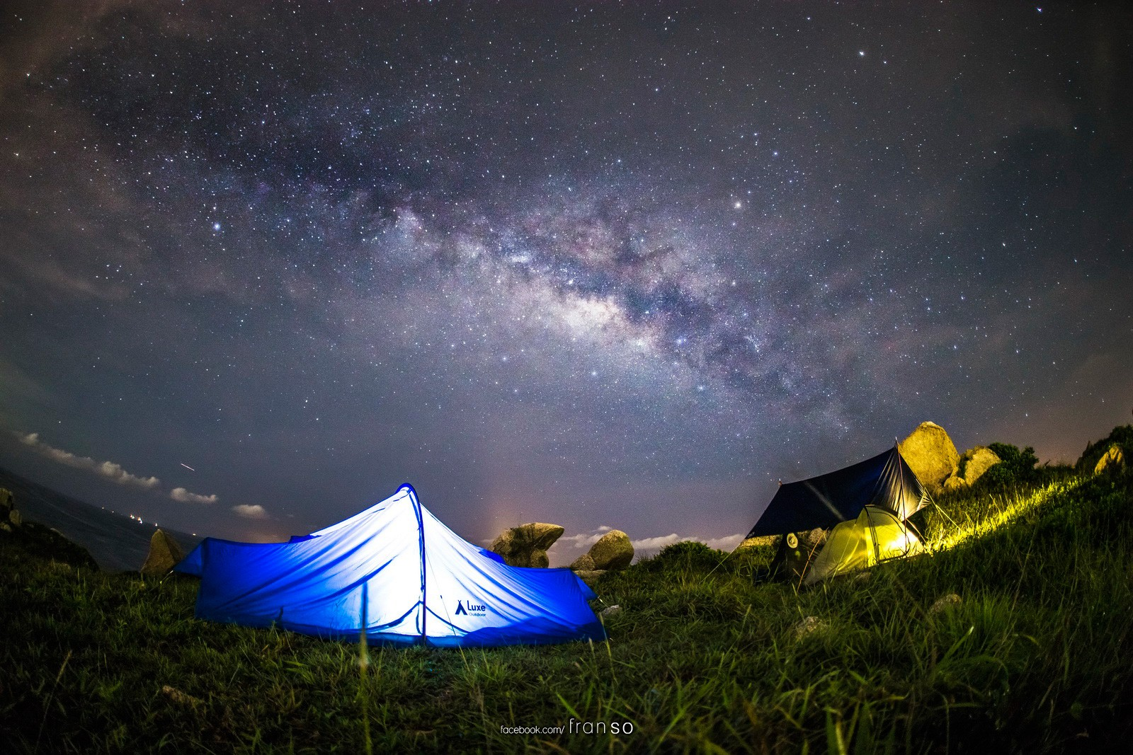 Starscape and Milkyway | Hong Kong | Camping  | Po Toi Island