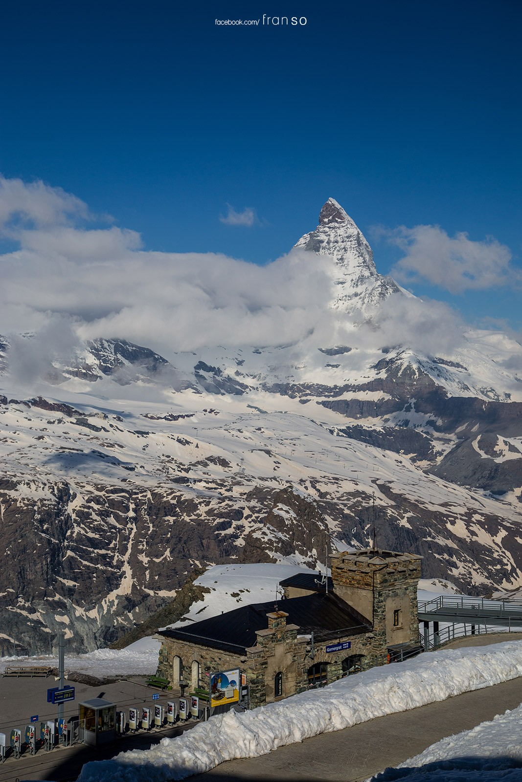 Landscape | Switzerland | Matterhorn  | the second highest train station at Europe