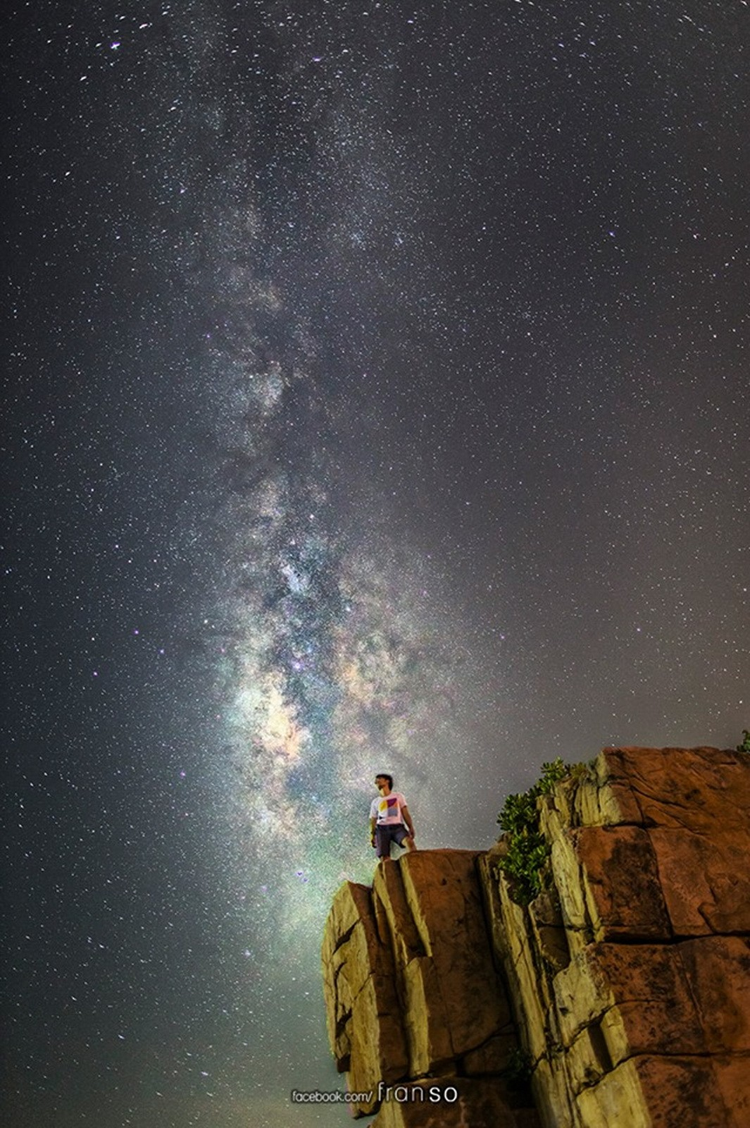 Starscape and Milkyway | Hong Kong | Selfie  | Shek O