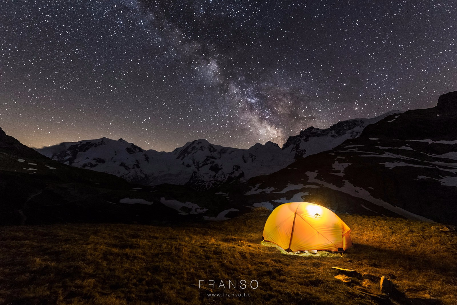 Starscape and Milkyway |  | Camping under the starscape |