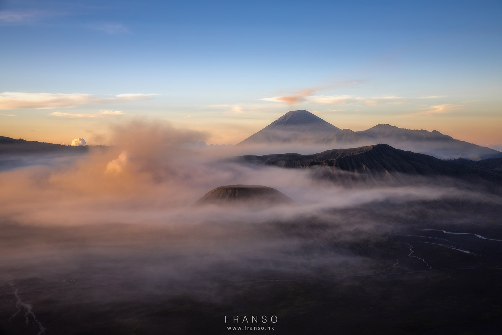 Landscape | Overseas | Before sunrise at Bromo |