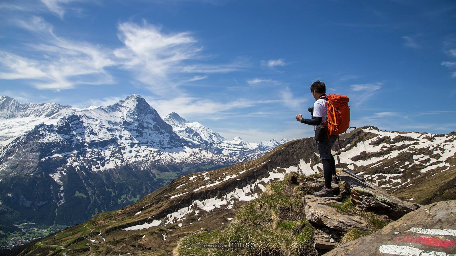 Landscape | Switzerland | Hiking at First  | Selfie