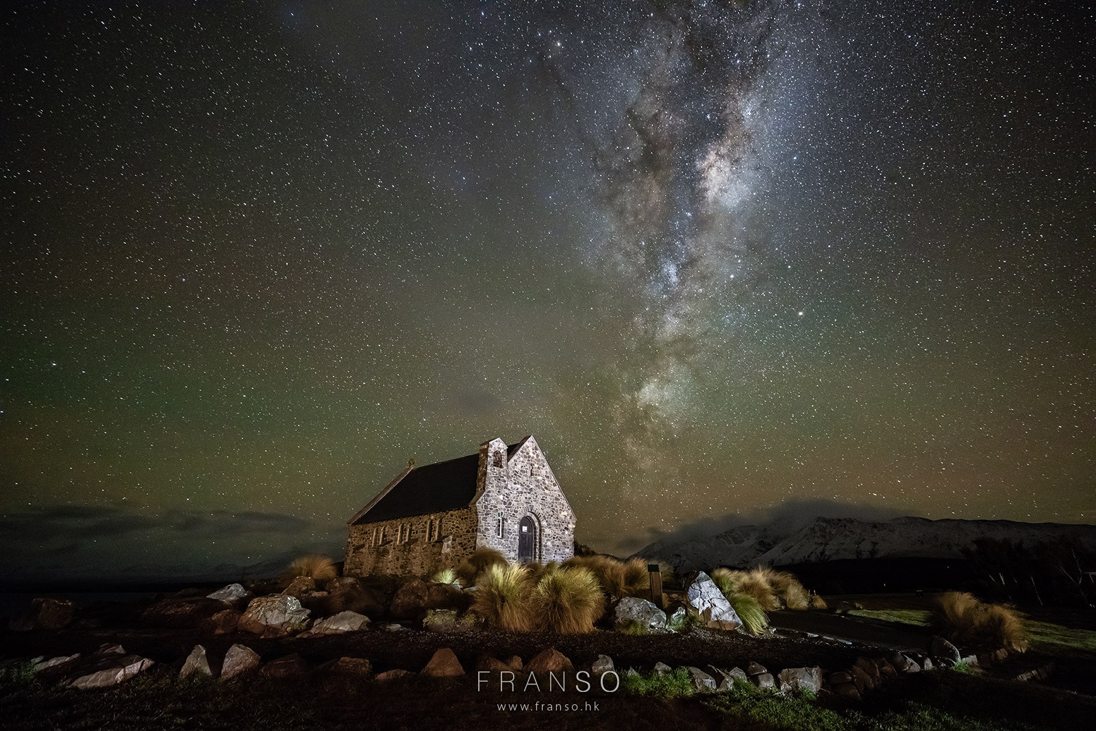 Starscape and Milkyway | Overseas | Milkyway at Lake Tekapo |