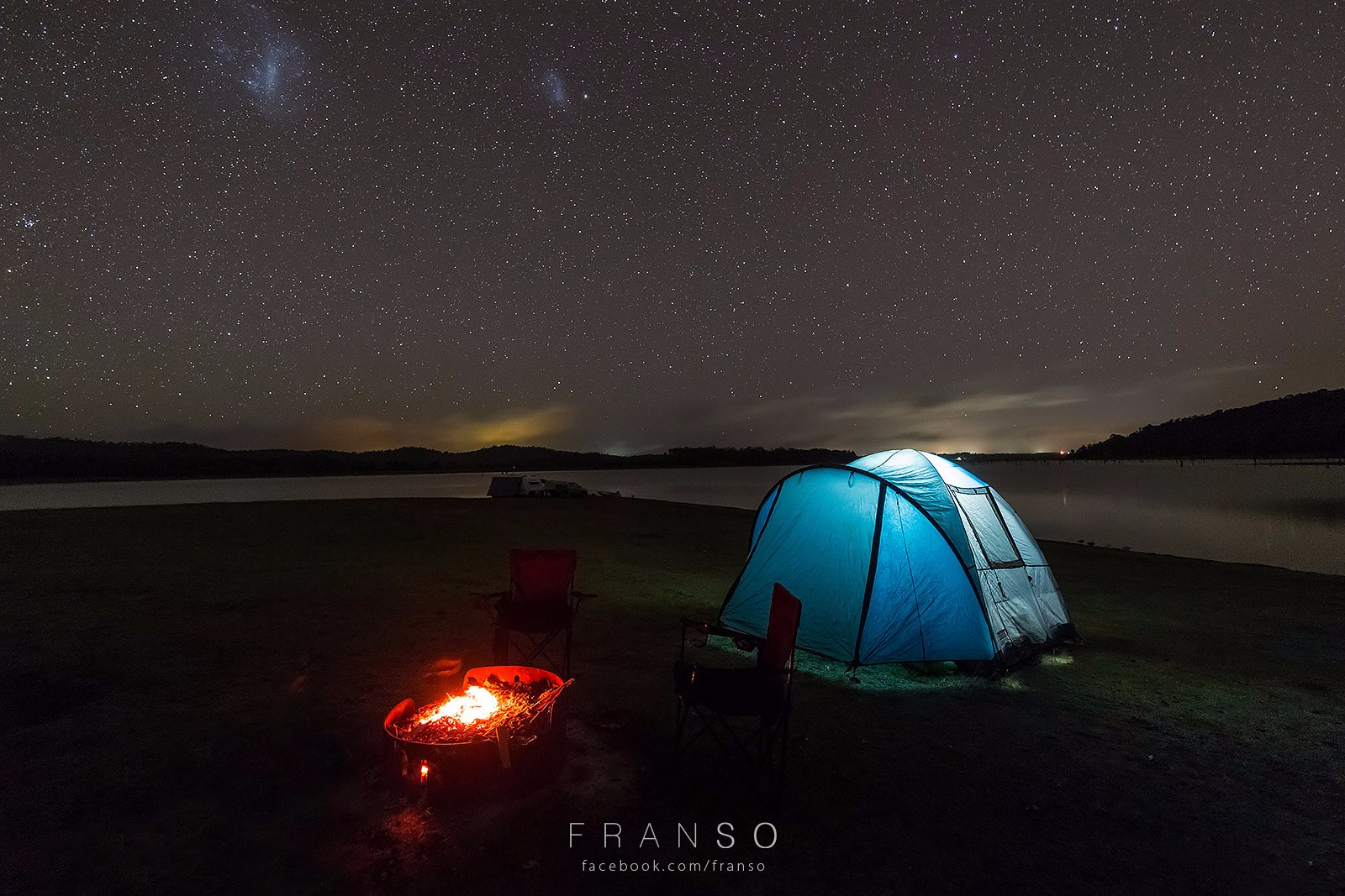 Starscape and Milkyway |  | Camping under the star | Lake Tinaroo, QLD, Australia