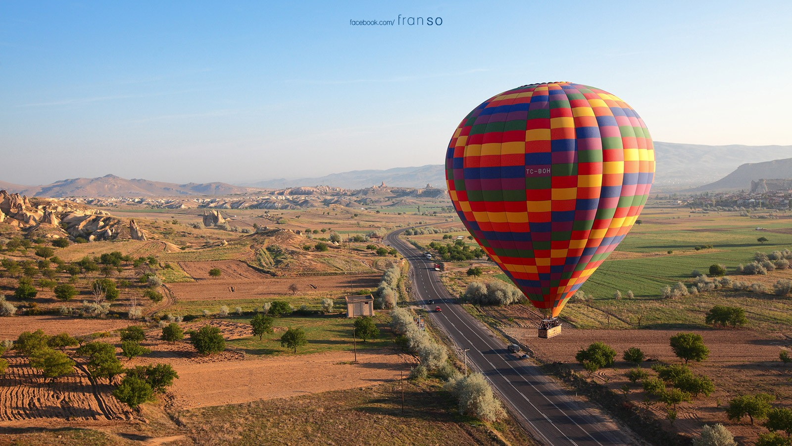 Landscape | Overseas | Hot Air Balloon | Cappadocia, Turkey
