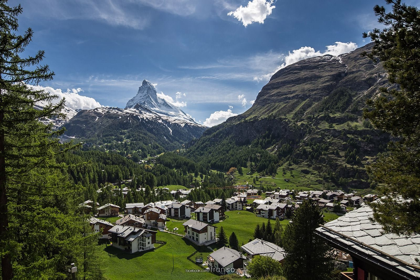 Landscape | Switzerland | Zermatt  | Zermatt and Matterhorn