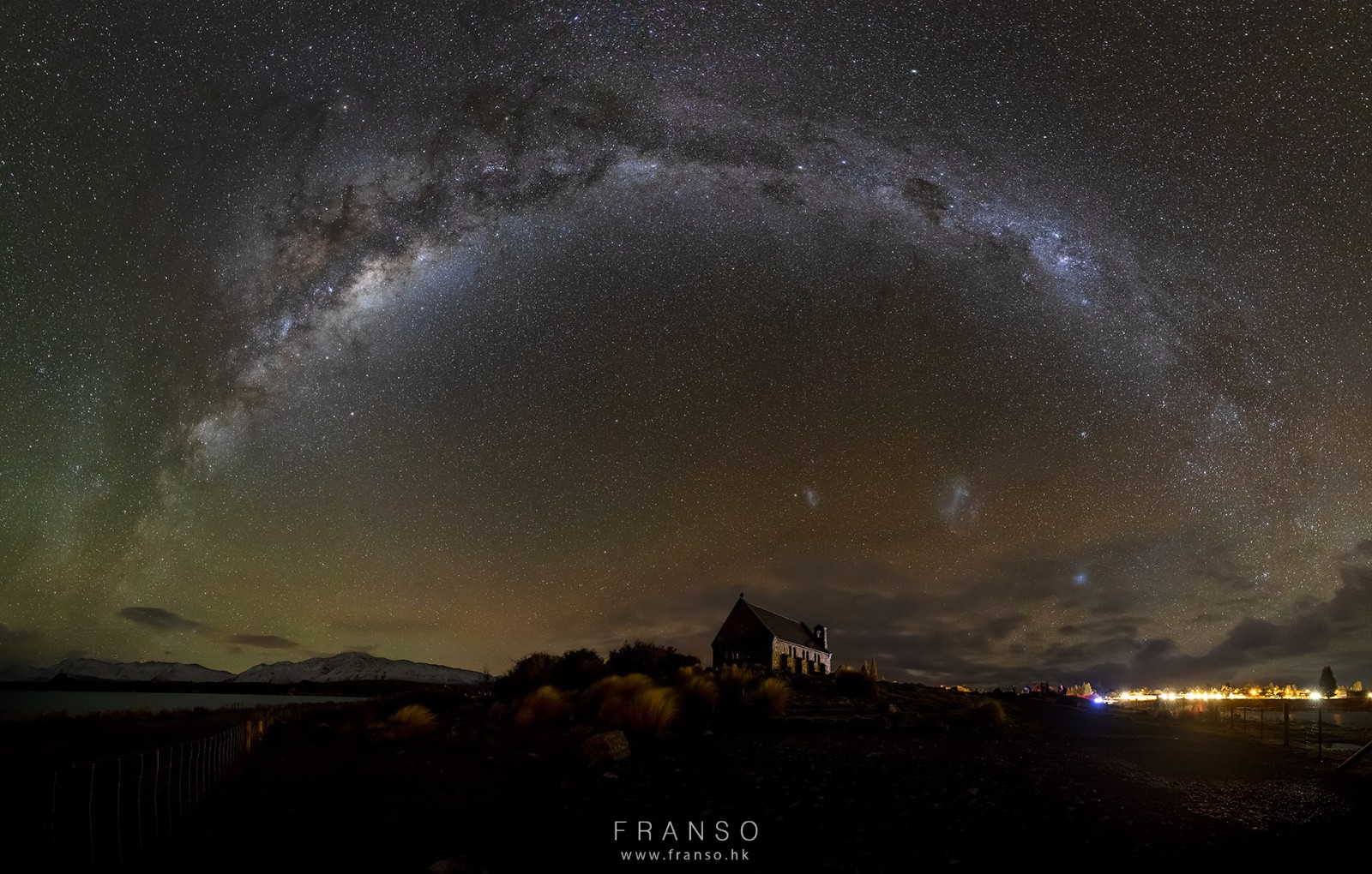 Starscape and Milkyway | Overseas | The Arch of the Milkyway | The Church of good shepherd