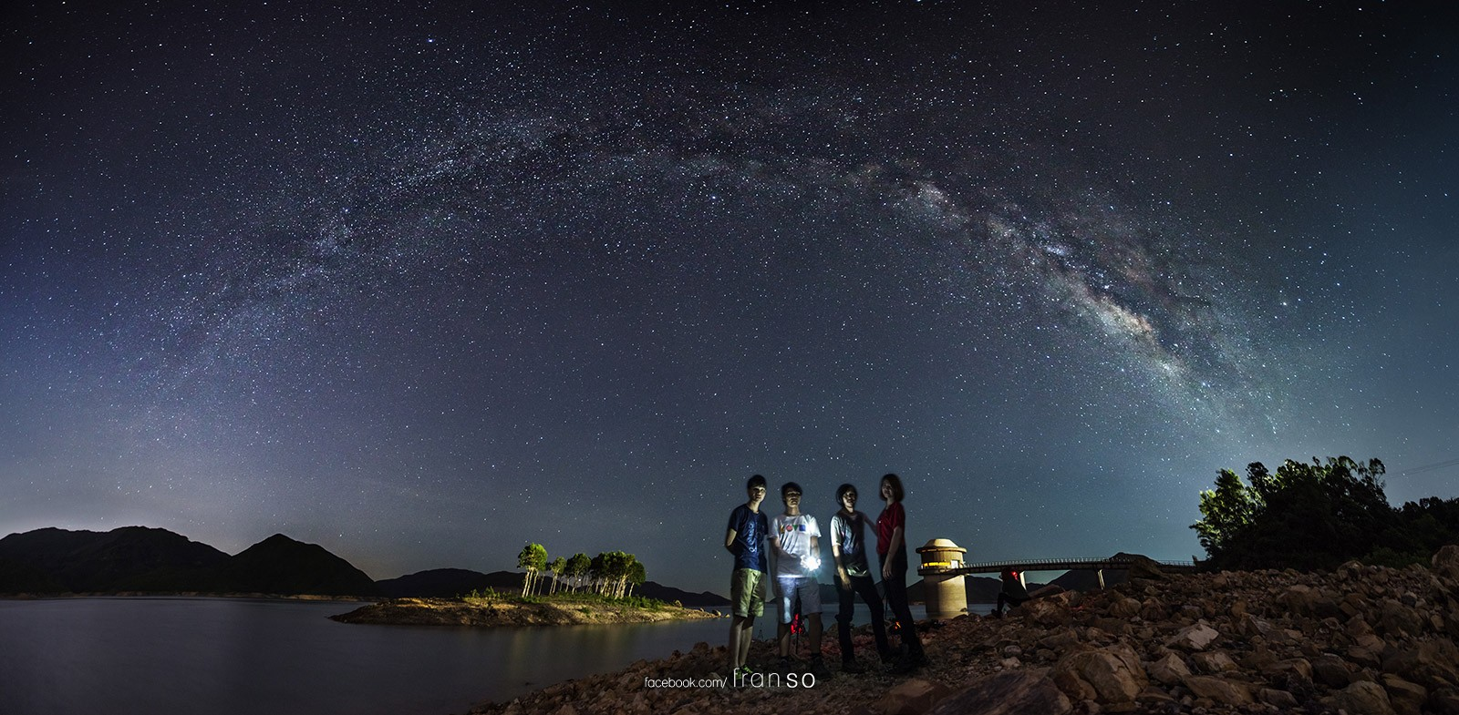 Starscape and Milkyway | Hong Kong | The Arch of the Milkyway  | West Dam of High Island Reservoir