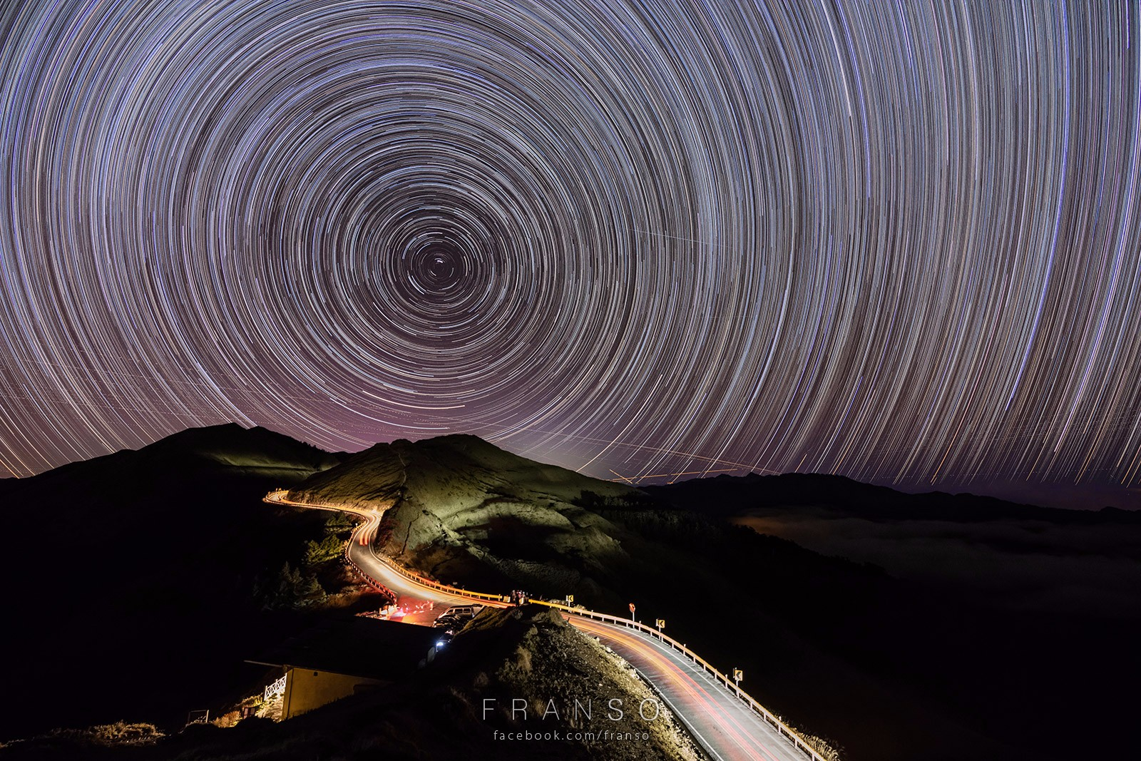Starscape and Milkyway |  | Over Thousands Years | 3 hours startrails at Hehuanshan, Taiwan