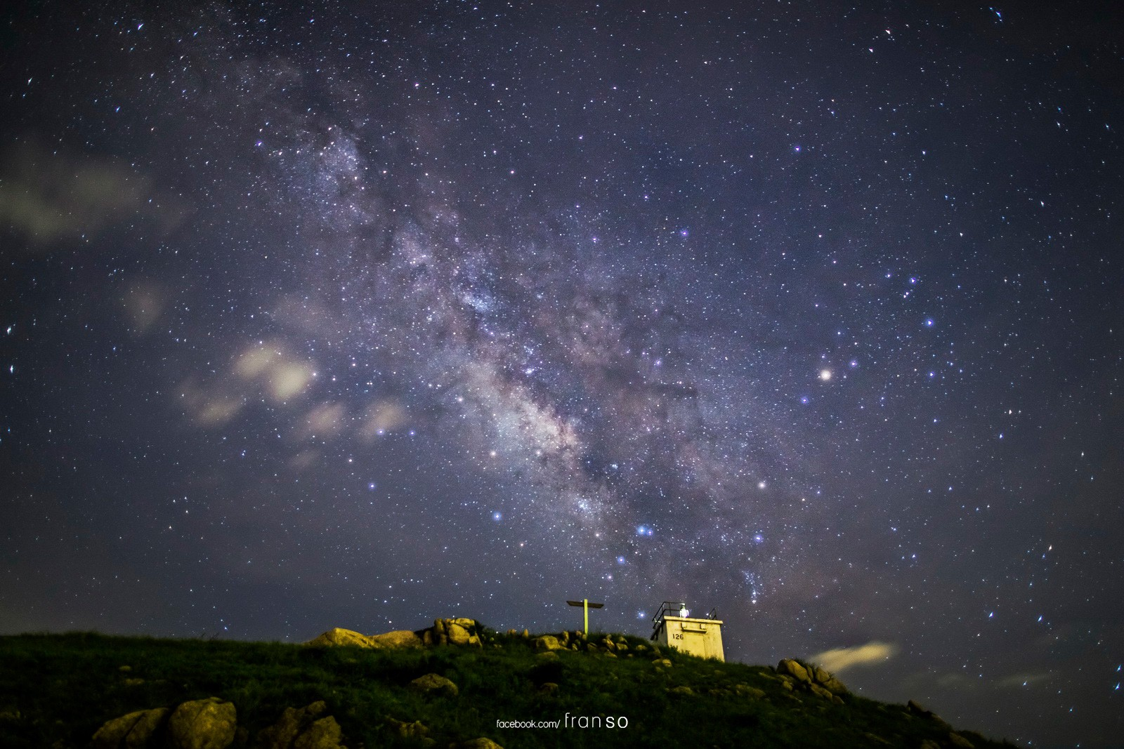 Starscape and Milkyway | Hong Kong | Po Toi Island  | Lighthouse