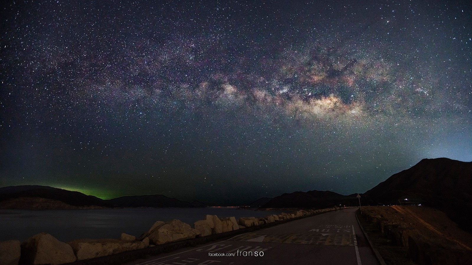 Starscape and Milkyway | Hong Kong | West Dam  | High Island Reservoir