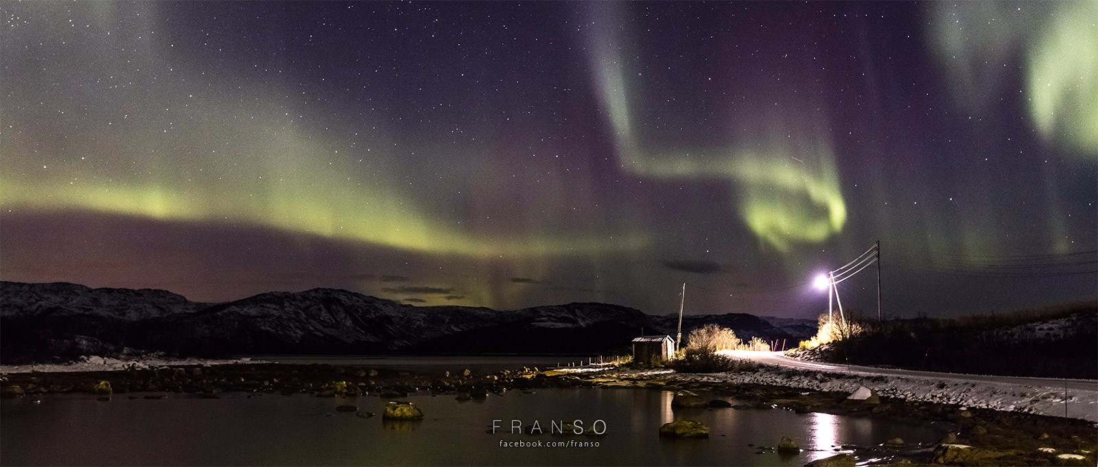 Landscape | Oversea | The Northern Light  | Lanabukt, Norway