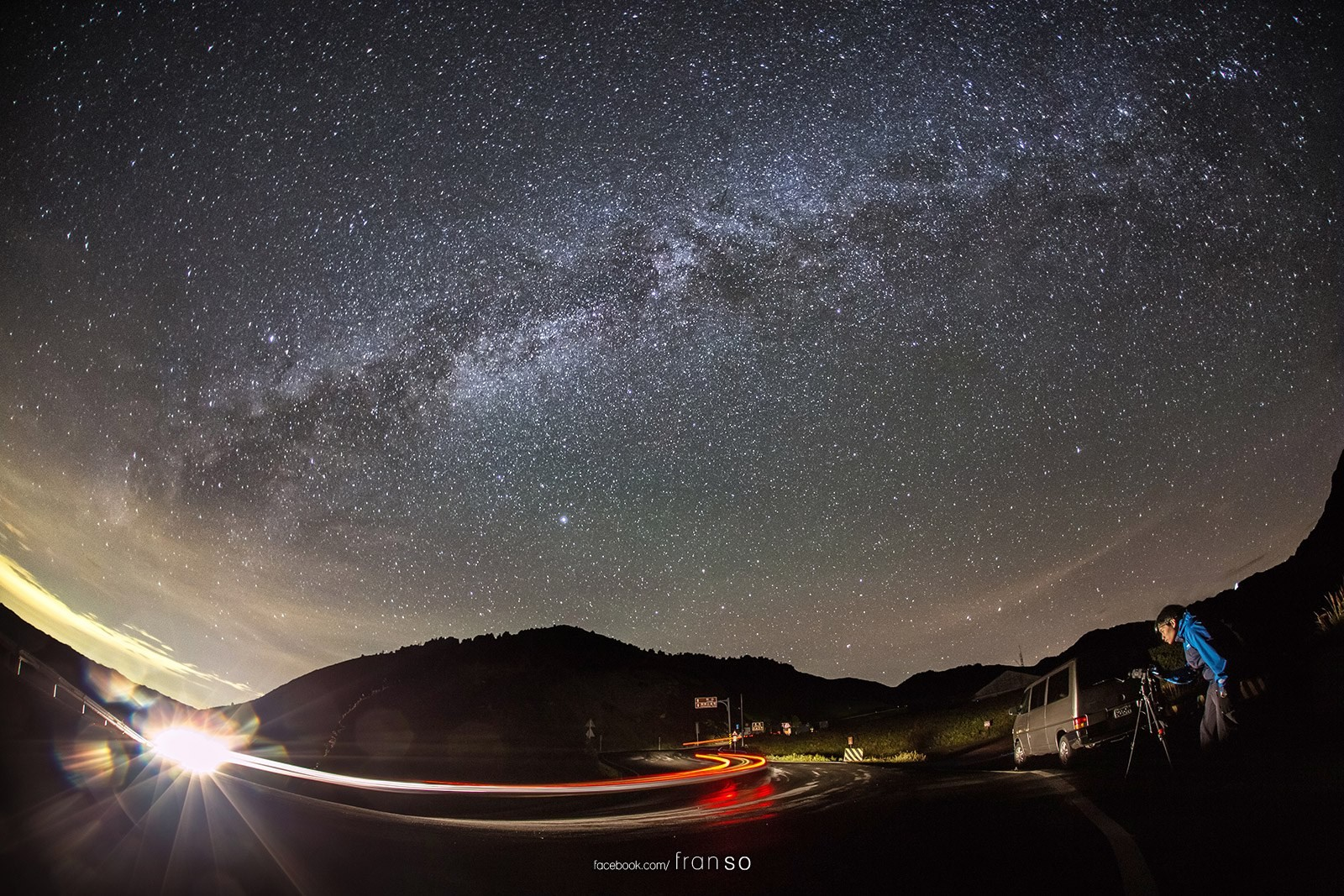 Starscape and Milkyway | Taiwan | Road to Milkyway  | Oversea timelapse workshop at CingJing