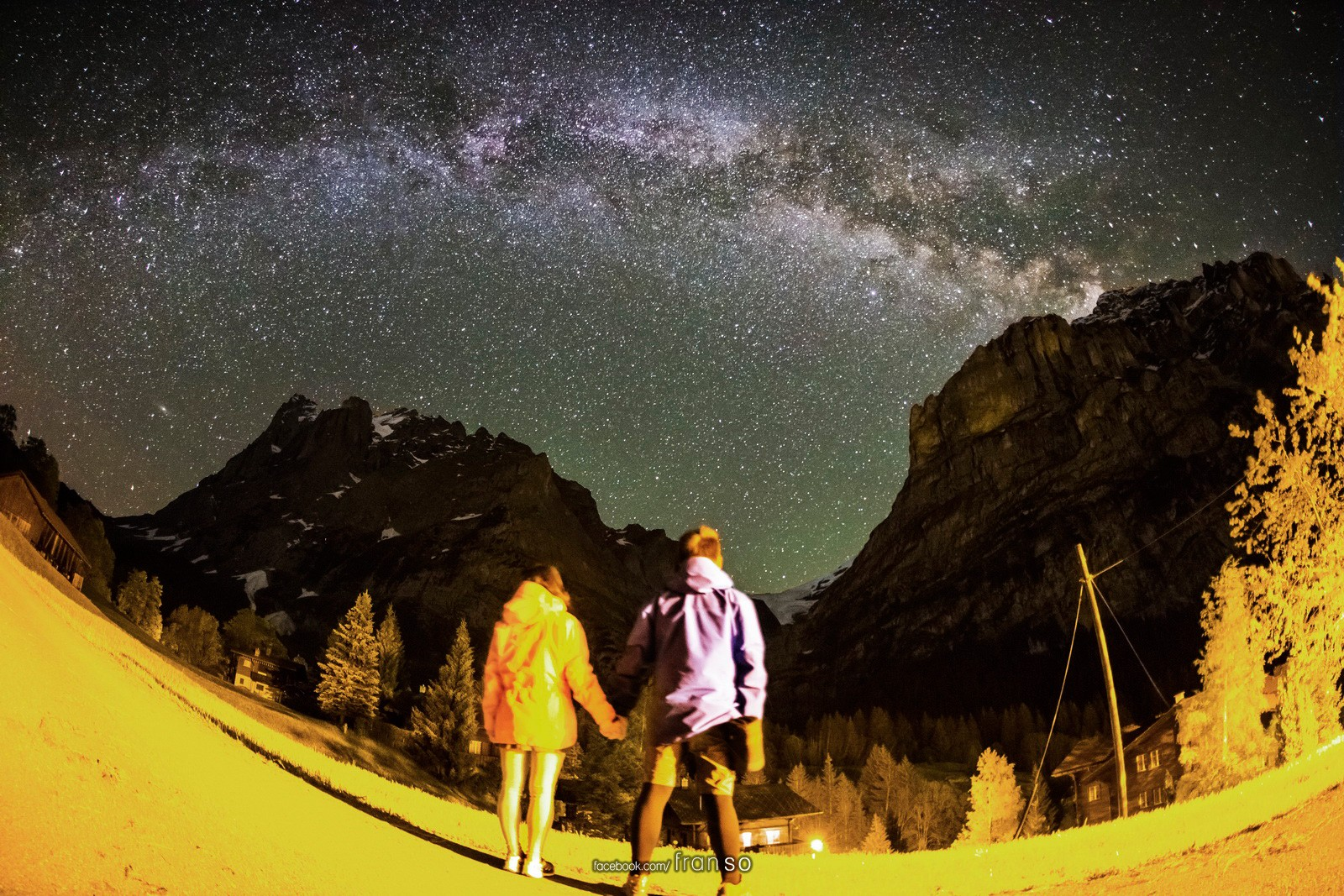 Starscape and Milkyway | Switzerland | Together  | Sweet